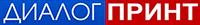 "Типография ""Диалог Принт"" Темиртау Логотип"